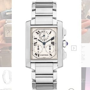 USED CARTIER TANK FRANCAISE WATCH-UNISEX